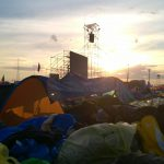L'alba al Campus Misericordiae