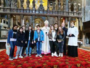I Cresimandi alla Messa del Crisma in Basilica di San Marco