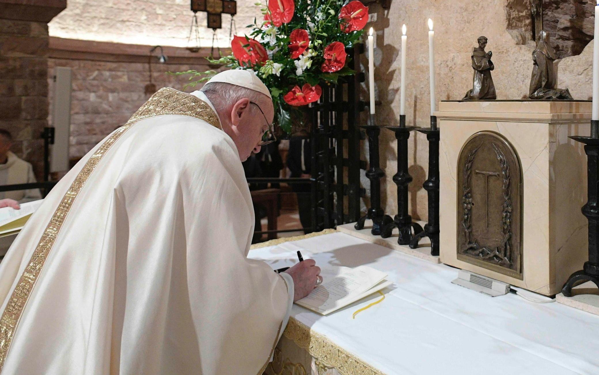 papa-enciclica-fratelli-tutti-ansa