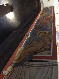 Giacobbe fece un sogno: una scala poggiava sulla terra, mentre la sua cima raggiungeva il cielo; ed ecco, gli angeli di Dio salivano e scendevano su di essa (Genesi, 28, 12)